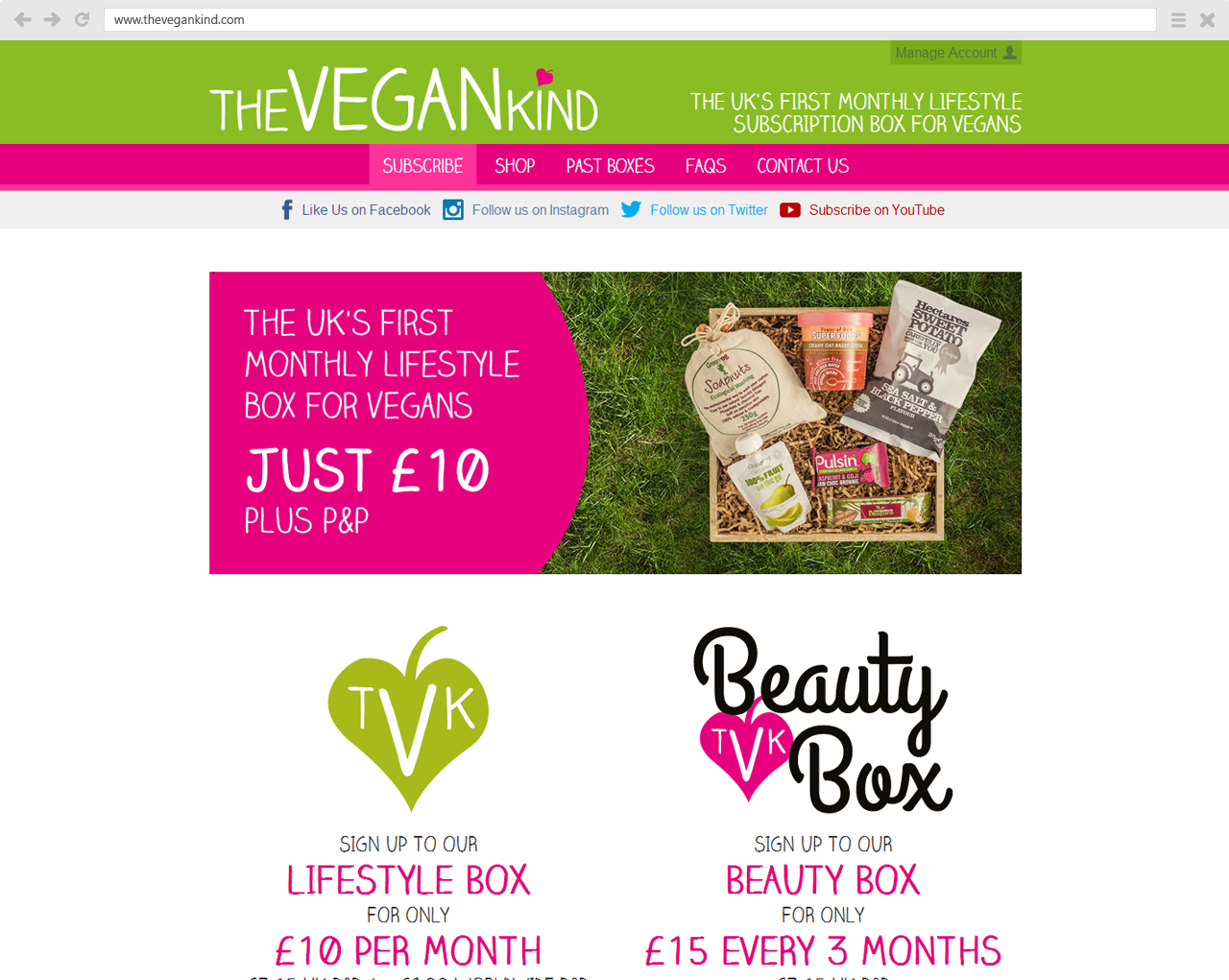 TheVeganKind Website