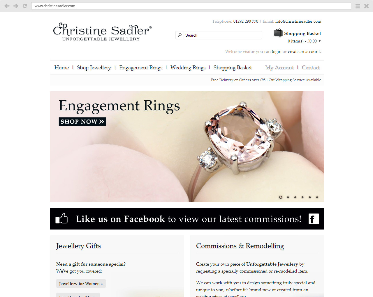 Christine Sadler Website